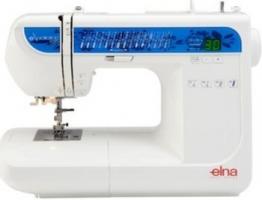 Elna eXperience 520 Nähmaschine mit vollautom. Knopflöcher 6mm Stichbreite, Einfädler - 1