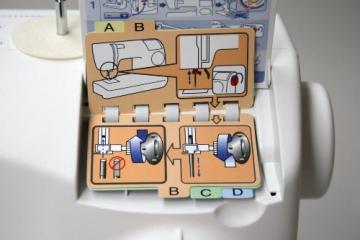 Toyota ECO34A Allround Freiarm Nähmaschine mit 34 Programmen