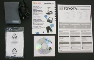 Toyota SUPERJ34 Allround Freiarm Nähmaschine mit 34 Programmen und Jeansfunktion